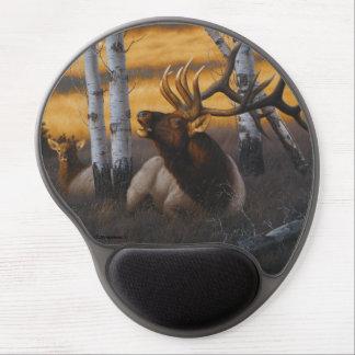 """""""Royal Summons"""" Elk Mouse Pad Gel Mouse Pad"""