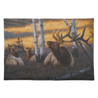 """Royal Summons"" Elk Place Mat"