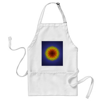 Royal Sun Flower Adult Apron