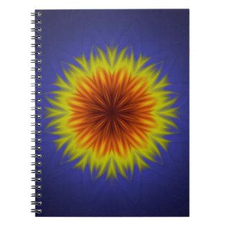 Royal Sun Flower Notebook