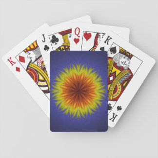 Royal Sun Flower Playing Cards