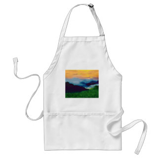 Royal Sunset Adult Apron
