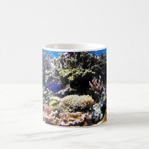 Royal Tang fish amongst the corals Coffee Mug