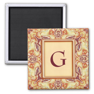 Royal Tapestry 2 Inch Square Magnet
