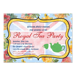 Royal Tea Party Party Invitation