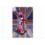 Royal telephone box post cards