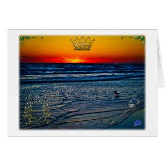 Royal Tequila Sunrise Over Atlantic Daytona Bch Card