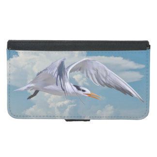 Royal Tern Bird in Flight Samsung Galaxy S5 Wallet Case