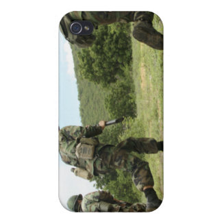 Royal Thai Marines rush forward to secure the s iPhone 4 Covers