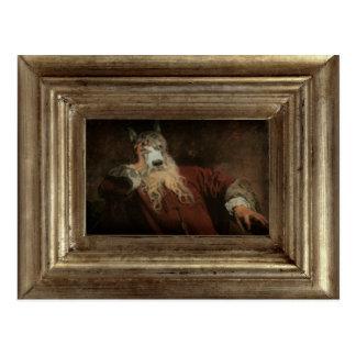 Royal The Lord Dog Framed Portrait Postcard