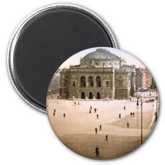 Royal Theatre Copenhagen Denmark 2 Inch Round Magnet