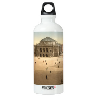 Royal Theatre, Copenhagen, Denmark Aluminum Water Bottle