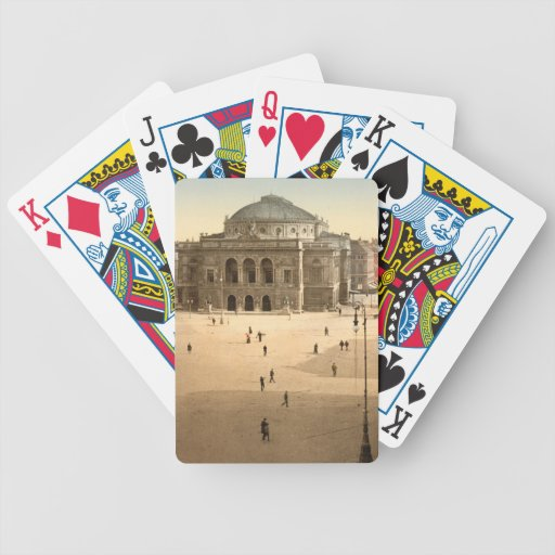 Royal Theatre, Copenhagen, Denmark Bicycle Playing Cards