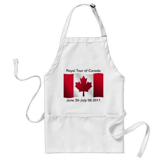 Royal Tour of Canada Adult Apron