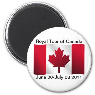 Royal Tour of Canada Fridge Magnet