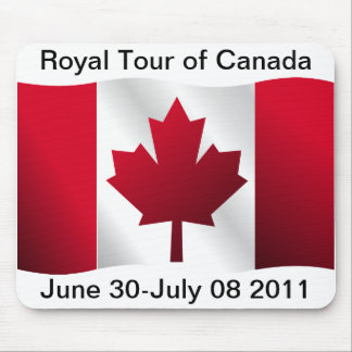 Royal Tour of Canada Mouse Pad