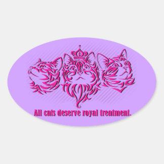 Royal Treatment Sticker