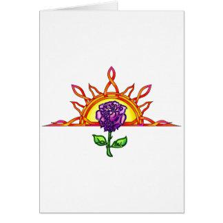Royal Tudor s Sunrise Card