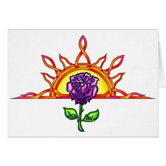 Royal Tudor s Sunrise Greeting Card