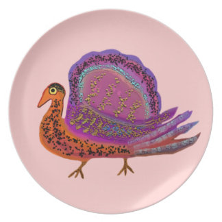 Royal Turkey Diva Decorative Plate