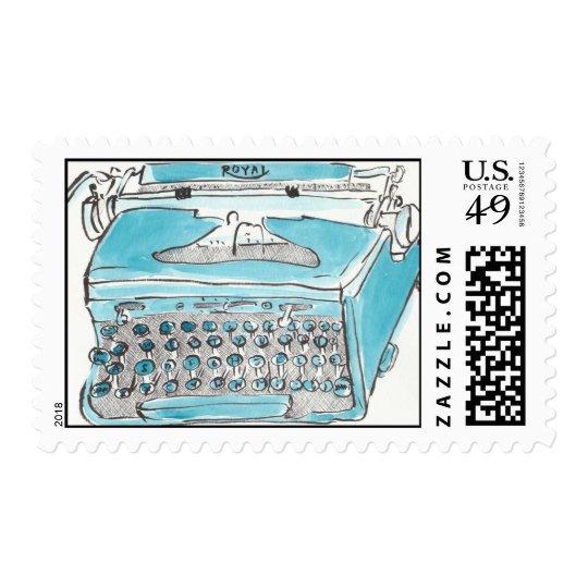 Royal typewriter stamps