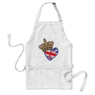 Royal UK Love Adult Apron