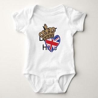 Royal UK Love Baby Bodysuit