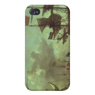 Royal Visit to the Fleet, 5th June 1672 iPhone 4 Cover