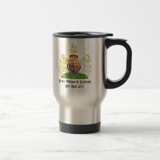 Royal Wedding 15 Oz Stainless Steel Travel Mug