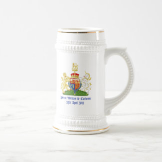 Royal Wedding 18 Oz Beer Stein