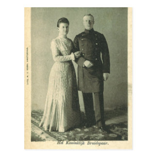 Royal Wedding 1901 The Netherlands #016NL Post Cards