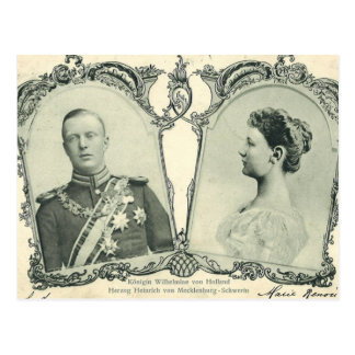 Royal wedding 1901 the Netherlands #N014 Post Cards