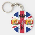 Royal Wedding 2011 Basic Round Button Keychain