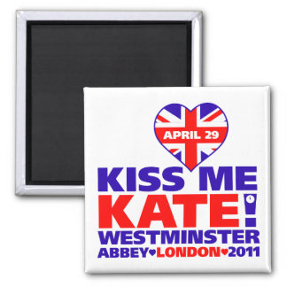 Royal Wedding 2011 Prince William 2 Inch Square Magnet