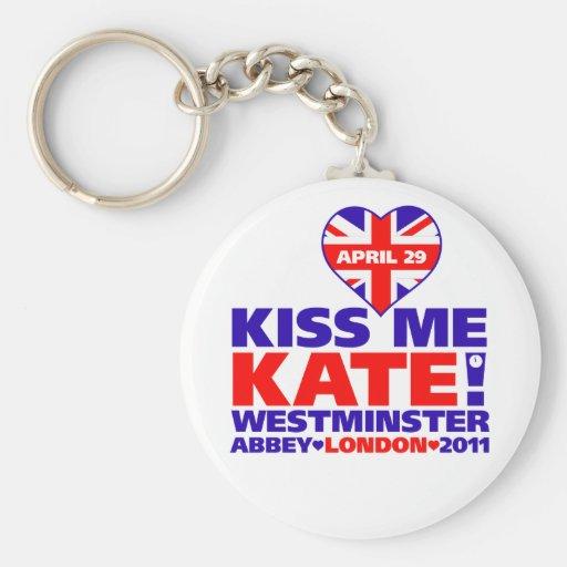 Royal Wedding 2011 Prince William Basic Round Button Keychain