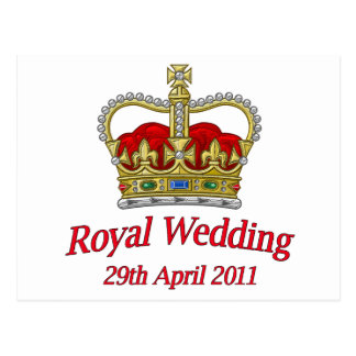 Royal Wedding 29th April 2011 Postcard