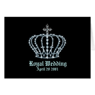 "Royal Wedding 5.6"" x 4"" Card"
