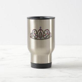 Royal Wedding/Bride's Tiara 15 Oz Stainless Steel Travel Mug
