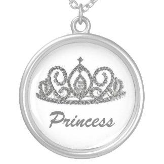 Royal Wedding/Bride's Tiara Personalized Necklace