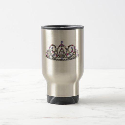Royal Wedding/Bride's Tiara Travel Mug