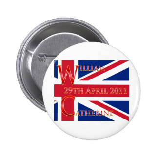 Royal Wedding Buttons