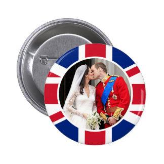 Royal Wedding 2 Inch Round Button