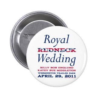 Royal Wedding Pinback Button