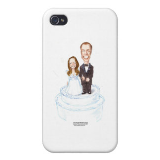 Royal Wedding Catherine &William Gifts Etc. Cover For iPhone 4