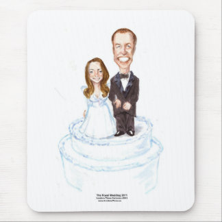 Royal Wedding Catherine &William Gifts Tees Etc. Mouse Pad