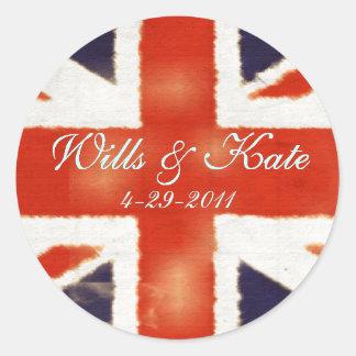 Royal Wedding Classroom Stickers (Formal)