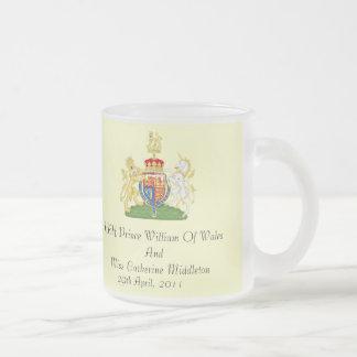 Royal Wedding Coat Of Arms Commemorative Gift Mug
