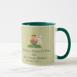 Royal Wedding Coat Of Arms Keepsake Mug