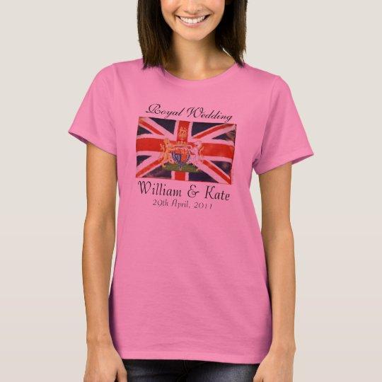 Royal Wedding Coat Of Arms Long Sleeve T-Shirt
