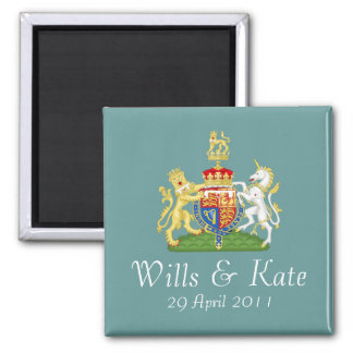 Royal Wedding Coat of Arms Magnet